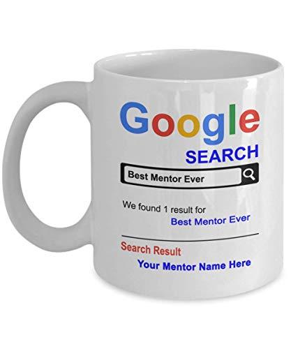 SpreadPassion Personalized Mentor Coffee Mug