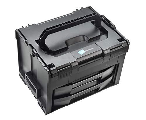 B&W Werkzeugkoffer LS-BOXX 306 (Koffer aus ABS, Volumen 24,8l, 40 x 10 + 5 + 5 x 31 cm innen) 118.01, ohne Werkzeug