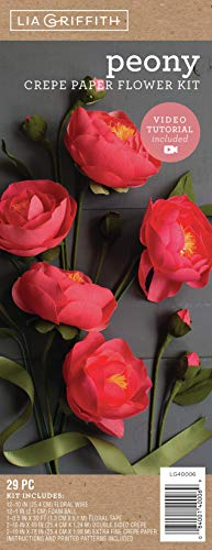 Creativity Street Crepe Paper Flower Kit-Peonies