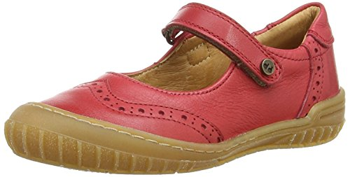 Froddo Girls Mary Jane Shoes, Mädchen Mary Jane Halbschuhe, Rot (Red), 35 EU