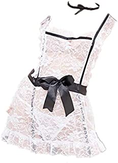 CJ Lace Women Lingeries Cosplay French Maid
