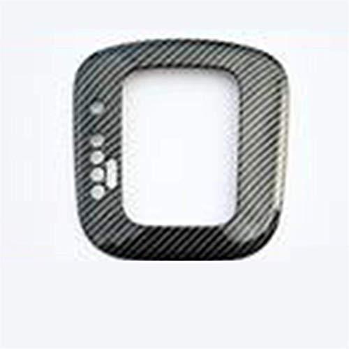 JYCX Tablero de fibra de carbono Panel de engranajes de salida de aire Panel de cubierta de decoración del volante para V & W para Polo 6R 6C 2011-2018 decoración del coche (color: 2011-2018 F)