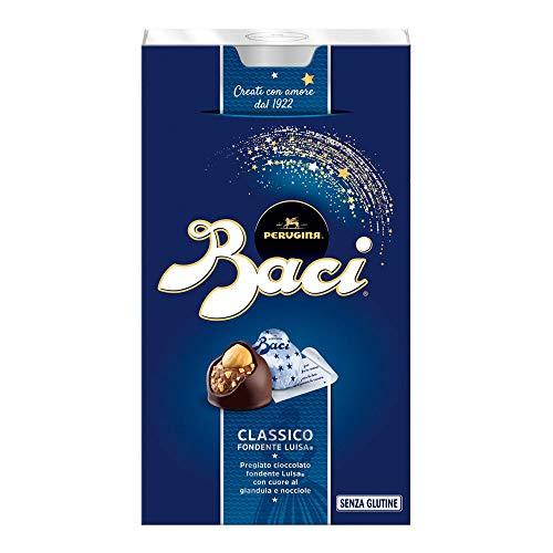 Baci Perugina Pralinen mit dunkler Schokolade und Haselnussfüllung Box, 1 Pack (1 x 200 g)