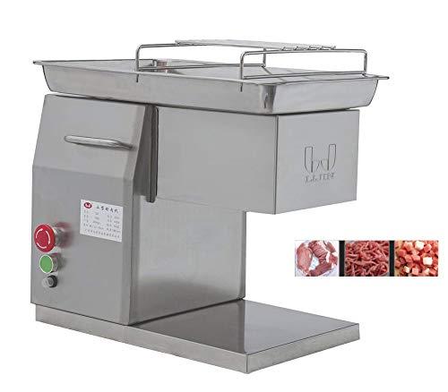 CGOLDENWALL 550W Elektrischer Fleischkutter丨Edelstahl Fleischwolf für 250kg/stunden z.b fertiges Rindfleisch&Lammfleisch丨Fleischschneider mit Abnehmbare Klinge von 2.5/3/5/6/7/8/10mm丨Meat Grinder QX