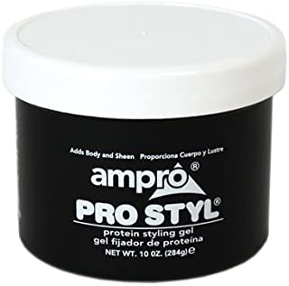 Ampro Pro Styling Protein Dark Gel, 10 oz. (Pack of 2)