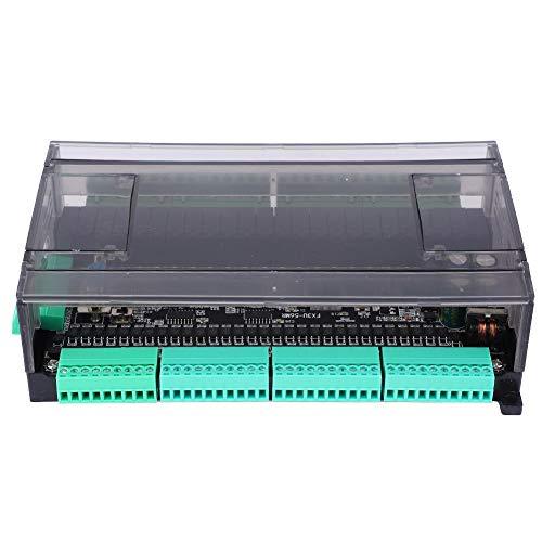 Hochgeschwindigkeits-AC-SPS-Steuerplatine, störungsfreier High-32-Punkt-Eingang, 24-Relais-Ausgang, SPS-Platine mit DC24V-Gehäuse zum Erlernen der Informatik