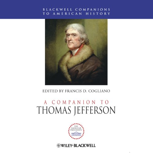 A Companion to Thomas Jefferson audiobook cover art