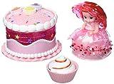 Cupcake Suprise 34661 - Geburtstagstorte Spielset, mit duftenden Muffin der sich in eine...