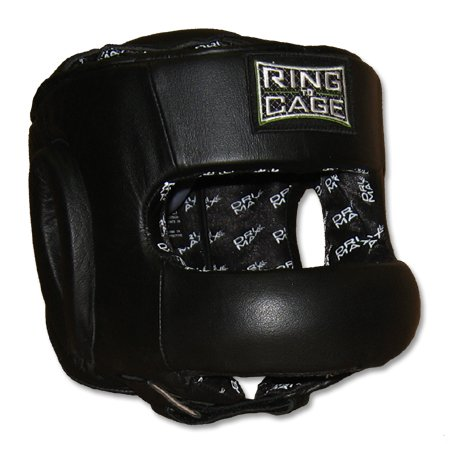 Ring to Cage Full Face Sparring Headgear for Boxing, Muay Thai, MMA, Kickboxing
