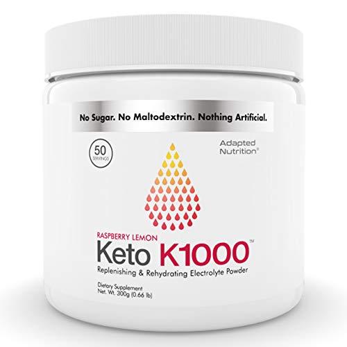 Keto K1000 Electrolyte Powder | Boost Energy & Beat Leg Cramps |...