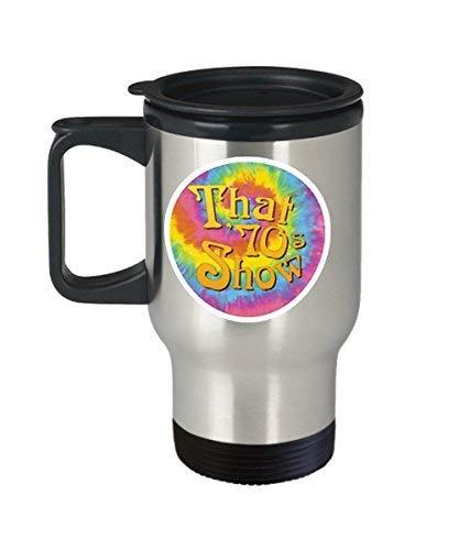 Maureen52Dorothy That 70S Show Coffee Mug Cup (Travel) 14 Oz Funny That 70S Show TV Sitcom cita regalo Merchandising Accesorios calcomanía decoración Pin Shirt Poster