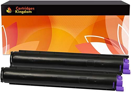 Cartridges Kingdom 2 Schwarz Toner kompatibel für Oki B2200, B2200N, B2400, B2400N
