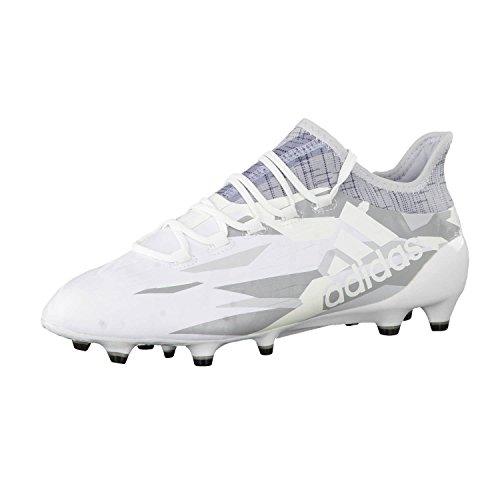 Adidas X 16.1FG Fußballschuh für Herren 41 Weiß/Grau