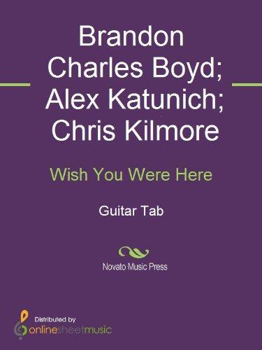 Wish You Were Here (English Edition) eBook: Alex Katunich, Brandon ...