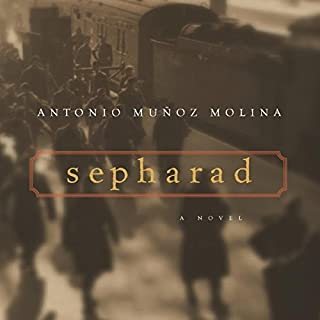 Sepharad audiobook cover art