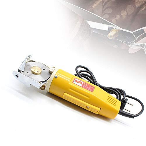 M/áquina de Corte Redondo de Tela El/éctrica de 70mm 170W Cortador de Tela El/éctrico Tijera El/éctrico Redondo Port/átil para Tela