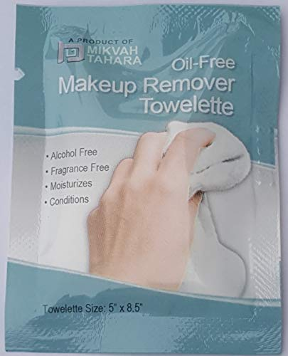 Facial Makeup Remover Wipes Ind. Wrapped (OIL-FREE, 50)