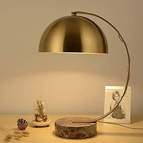 Ckssyao Lámpara de Mesa Lámpara de Mesa de Hierro Forjado, lámpara de Noche para Dormitorio, Estudio clásico, lámpara de Mesa Creativa para habitación de Hotel, 29 * 50 cm