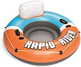 Bestway CoolerZ Single Person Rapid Rider Inflatable River Lake Pool Tube Float