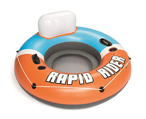 Bestway CoolerZ Single Person Rapid Rider Inflatable River Lake Pool Tube...