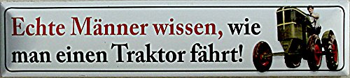 Blechwaren Fabrik Braunschweig Plaque de Rue magnétique en tôle 16 x 3,5 cm STR-M 27