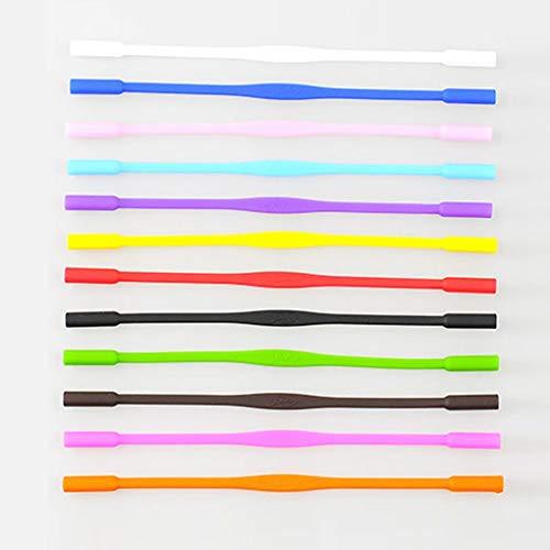 Demino Anti Slip Siliconen Glazen van de Zonnebril Cords Kinderen brillen Rope