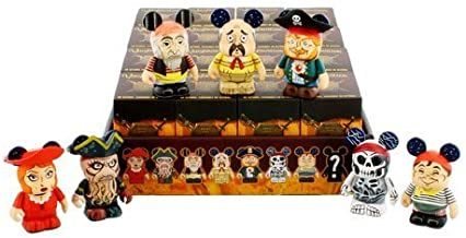 Pirates of the Caribbean Series 2 One Unopened Box Disney Vinylmation 3'' Figure CUTE