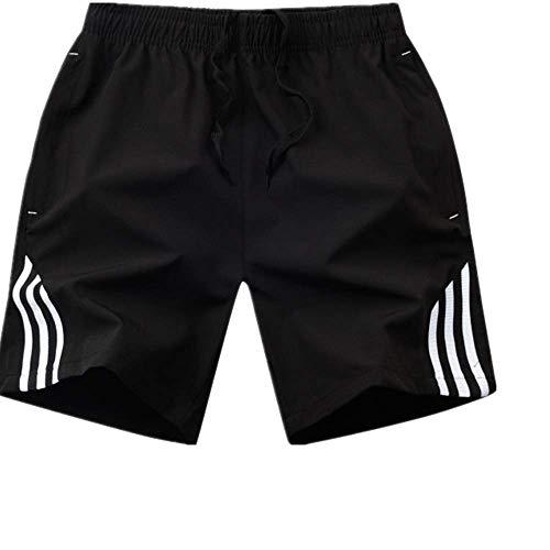 N\P Masculino Casual Fitness Rayado Hombres Ropa Deportiva Jogger Bodybuilding Shorts
