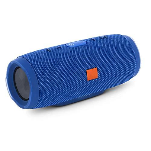 XIXV Charge3 Altavoz Bluetooth Sintonizador portátil Sintonizador 2200mAh Power Bank Impermeable Sport Sport Specker Boombox (Color : Blue)