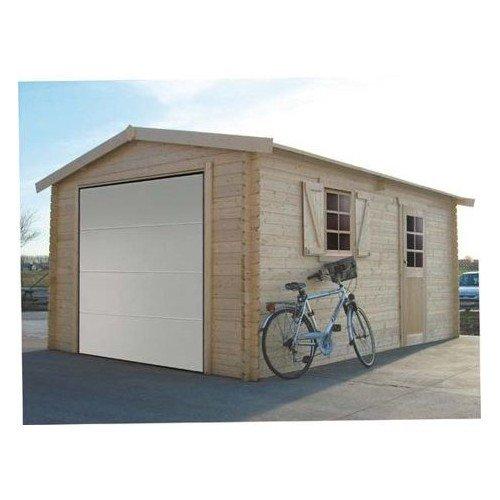 SOLID SUPERIA Garage Traditional 3580x5380 Bois, 358x538x264 cm