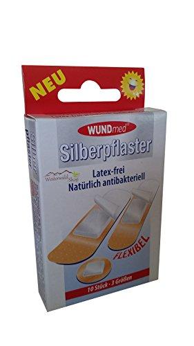 Zilverpleister 10 stuks flexibel latex-vrij