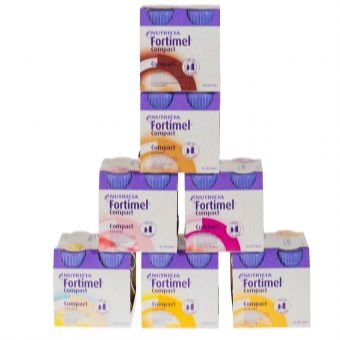 Nutricia Fortimel Compact 2.4 8x4x125ml, Neutral