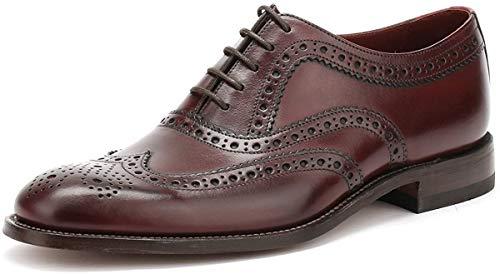 Fearnley Mens Formale Lace Up Schuhe 8.5 UK/43 EU Burgundy Calf