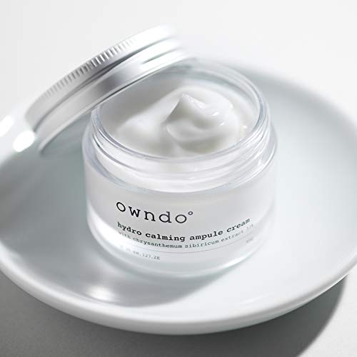 owndo° Korean beauty organic face cream- Gujeolcho - Facial skin care cosmetics - Hydrating,Moisturizing for 72hours - Whitening wrinkle effect - moisturizer for dry face women and men
