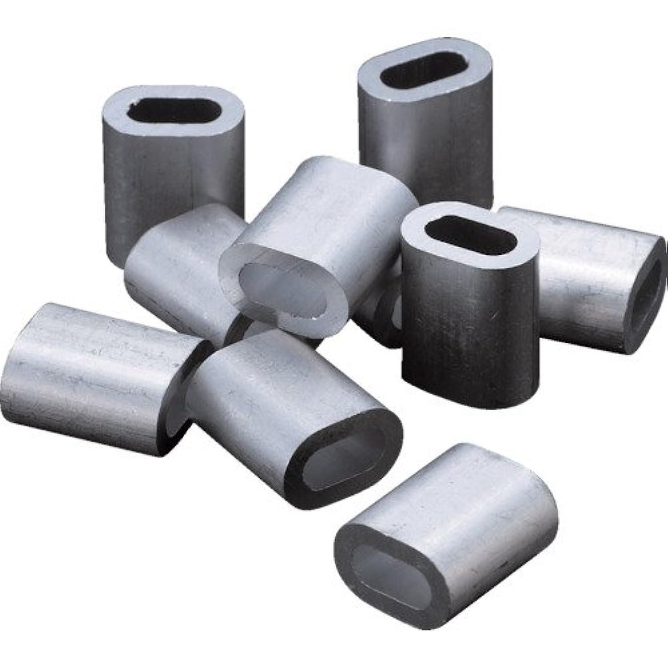 孤独レビュアー論理的TRUSCO(トラスコ) アルミスリーブ 適合ワイヤ径2.5mm 20個入 AS-25