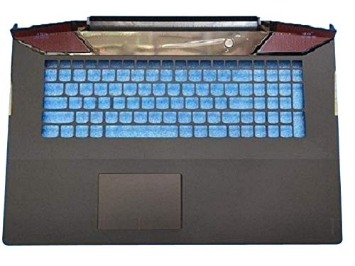RTDpart Laptop PalmRest For Lenovo Y700 Y700-17 Y700-17ISK US Layout AP0ZH000400 Keyboard Bezel Cover Upper Case Touchpad New