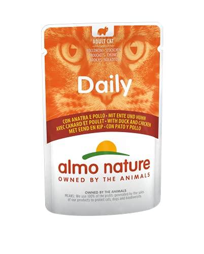 almo nature Daily Cibo per Gatti con Pollo e