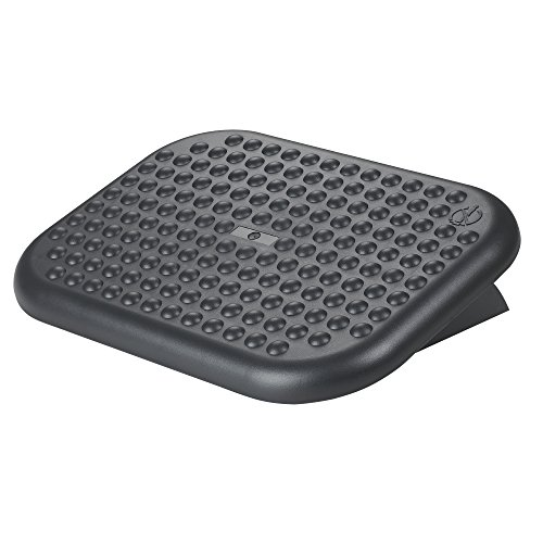 """Nuova Ergonomic Adjustable Footrest- 17.6"""" X 13.2"""" Large Platform - FR6000 Foot Rest"""