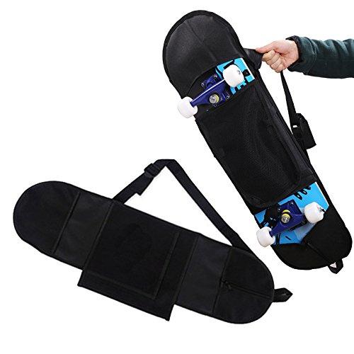 Skateboard Tragetasche Schultertasche Rucksack Handliche Handtasche Longboard Rucksack Langes Board Für max. 31 Zoll (80cm) Skateboard