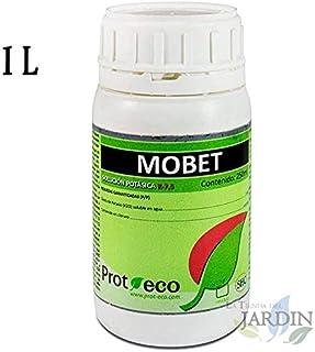 Suinga JABON POTASICO Mobet 1 litro, fortificante e insecticida, actúa eficientemente contra un Amplio Espectro de Insectos, Hongos y bacterias.