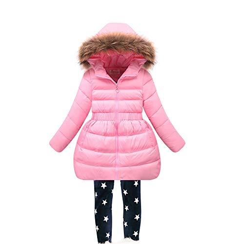 3-14 Years Digirlsor Toddler Kids Girls Winter Parka Coats Long Padded Lightweight Down Jacket Outerwear