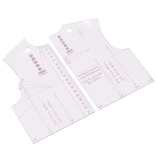 1:5 Diseño de Moda Regla de Tela Escuela Estudiante Teching Ropa Dibujo Templete Prendas Prototipo Reglas Herramienta de Coser
