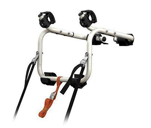 Portabicicletas Porta Bicicletas Trasero para Coche 17 Kg Correas Seguridad 3565