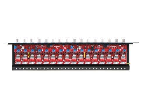 Distribución UTP COAXIAL de la fuente de alimentación de la protección contra sobretensiones del panel de remiendo 16CH