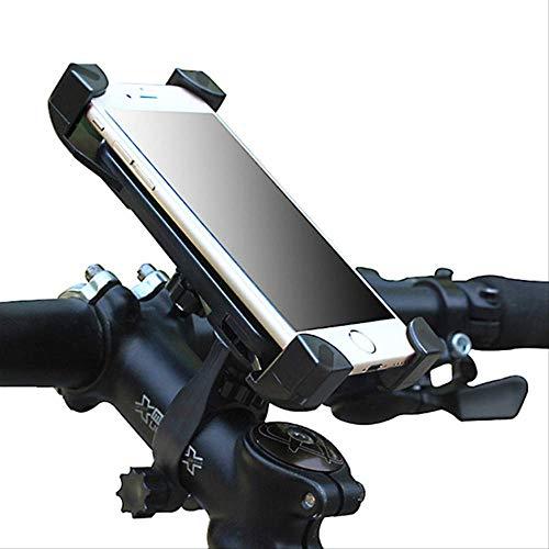 GTREW Fiets-telefoonhouder, fiets-telefoonframe, elektrische motorfiets, mountainbike-navigatiestandaard, 360 graden draaibaar, geschikt voor een groot aantal mobiele telefoons