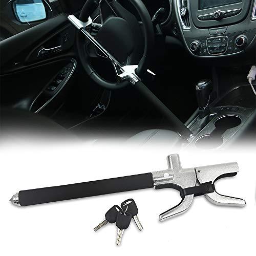 KAIRAY - Candado antirrobo para volante de coche, ajustable, para vehículos de camiones y SUV