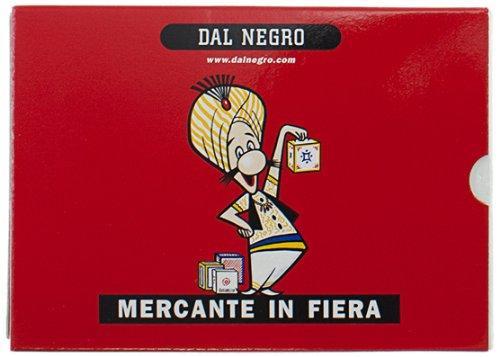 Dal Negro 90004 - Mercante in Fiera Astuccio Rosso, Carte da Gioco