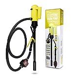 TERA PUMP Genuine 22.6-33.5 inch 55 Gallon Drums Telescopic Plug-in - Electric Barrel Pump with Flow Meter for Diesel/Gasoline/Kerosene/DEF/AdBlue/Antifreeze/Windshield Washer