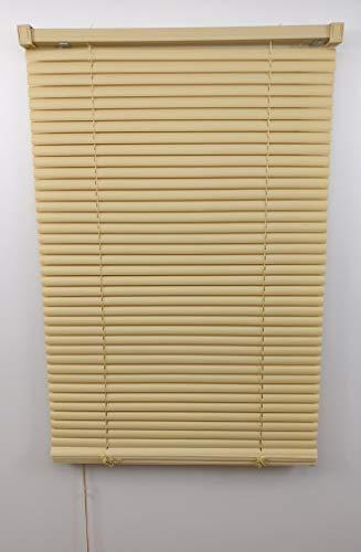 thesecrethome.es Persiana Veneciana PVC - 80 X 175 cm - Decoracion Salon Dormitorio Cocina (Natural)