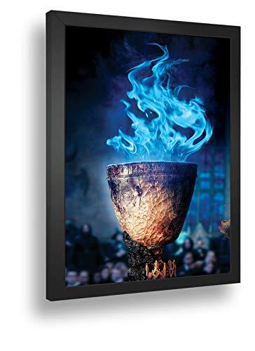 Quadro Decorativo Poste Harry Potter E O Calice De Fogo